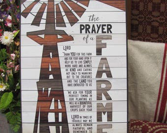 Farmers Prayer Etsy
