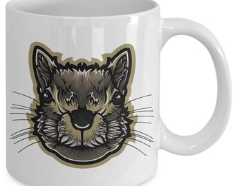 Squirrel Tree Ground Flying Rodent Coffee Mug