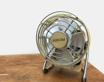 Vintage Aurora Personal Electric Fan