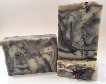 Spicy Patchouli-Natural-Cold Process-Soap-Handcrafted-Soap-Gift for Him-Gift for Her-Essential Oil-Artisan-Abbotsford-BC-Canada