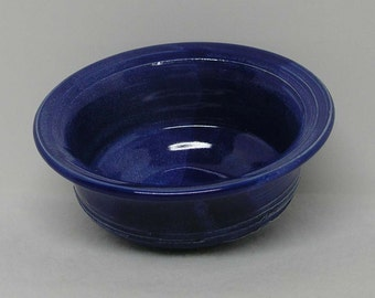 Small Cobalt Blue Porcelain Bowl