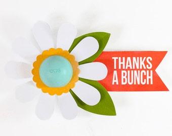 EOS Lip Balm: Thanks a Bunch Flower