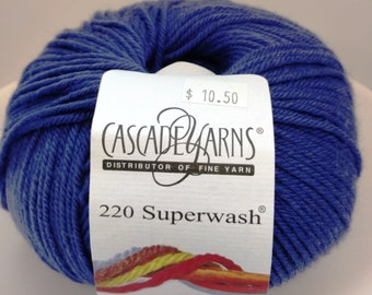 Cascade, Superwash, Wool, Worsted, Purple, 1971