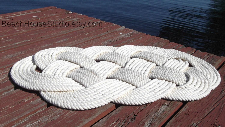 Nautical Bathmat Pure Cotton Nautical Mat And Rug Nautical