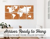 Browse our World Maps for Sale - Over 25 Color Options Available - These make Great Home Decor Prints
