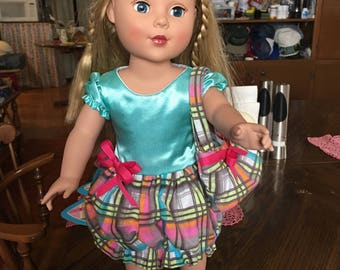 Adorable dress for your American girl doll