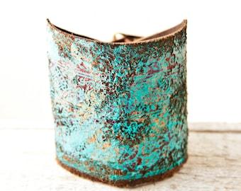 Rainwheel Leather Jewelry Leather Cuff Bracelets for Women