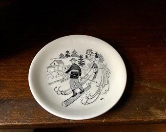 Vintage Arabia Finland Emilia Coaster Small Plate Raija Uosikkinen