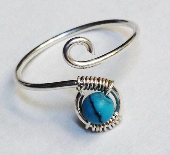 turquoise ring turquoise gemstone ring turquoise jewelry