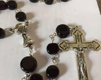 Hockey Puck Rosary