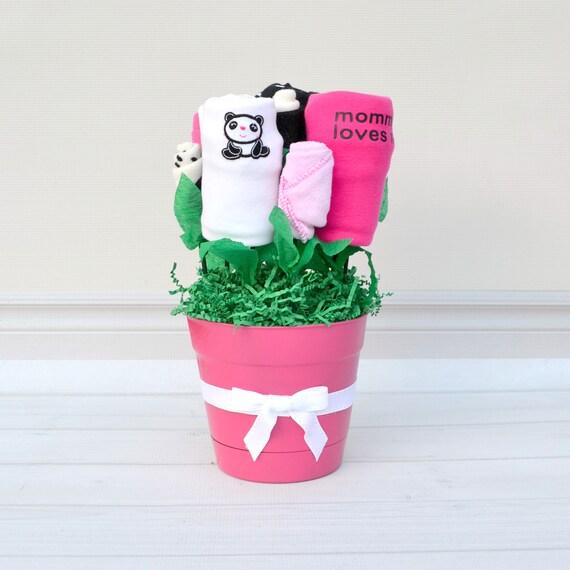 Pink & Black Panda Blossom