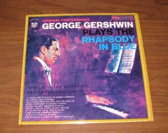 George Gershwin playing Gershwin record
