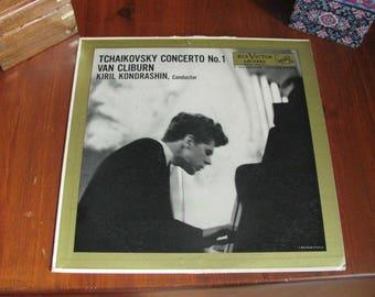 Van Cliburn record: Tchaikovsky piano concerto 1, 1958
