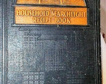 Vintage Household Searchlight Recipe Book