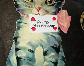 1938 BIG Kitten Cat Valentine