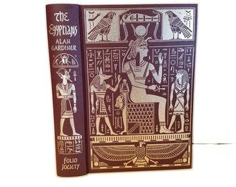 Hollow Book Safe The Egyptians Folio Society Civilizations secret compartment box