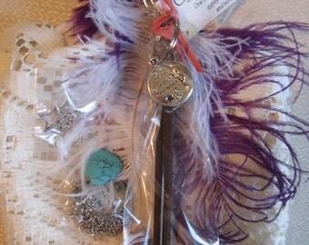 Gypsy Dollar Grab Bag Mystery Incense Candle Tea Magical Love Joy Bohemian Necklace Earrings Love