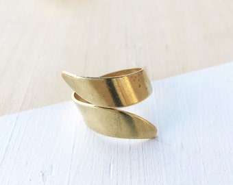 Wrap Ring | Brass | Adjustable
