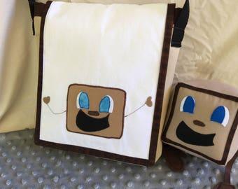 Tiny Box Tim and Markiplier inspired Messenger bag! Adjustable strap, Markiplier Youtuber. Ready to Ship!