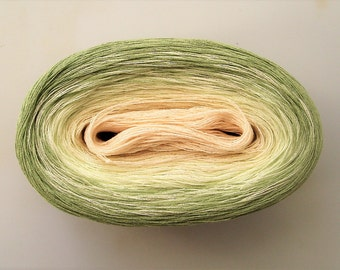 MINT -- Color Changing Cotton yarn -- 480 yards/100 gr -- Fingering Weight