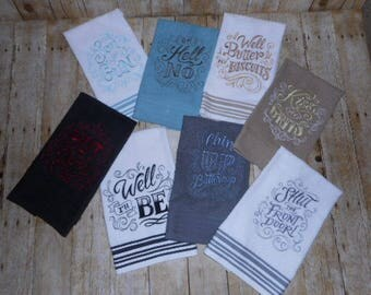 TODAY'S SPECIAL - Southern Sayings Kitchen Towels -  Set of 2