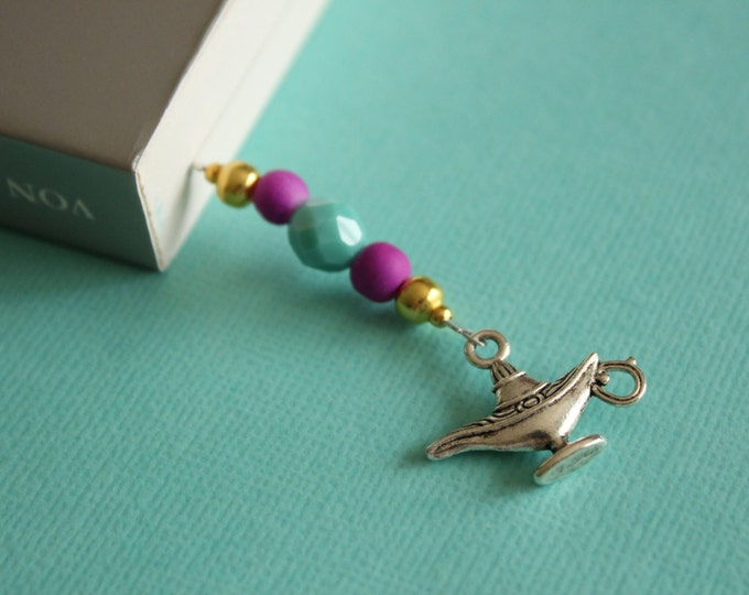 Aladdin Beaded Bookmark/Book Thong.