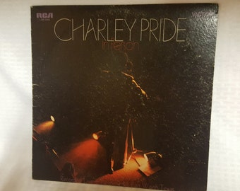 Charley Pride In Person - Vintage Record 1969