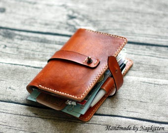 Leather journal notebook cover PATTERN Moleskine cover diary College Traveler's notebook Leather wallet Padfolio pocket journal PATTERN