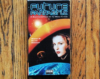 Vintage Science Fiction TV Documentary with Gillian Anderson Future Fantastic BBC Film Series