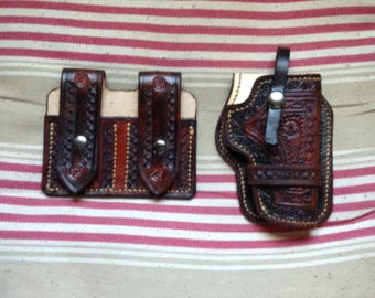 Custom Made to Order Holster and Mag Carrier Set - Ready to Ship Immediately