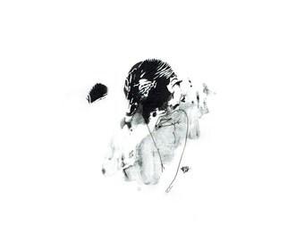 minimalist ink print: bonafide