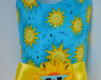 Dog Harness Vest - Summer Sun