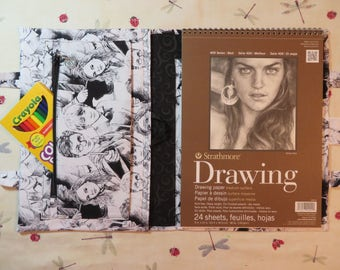 HARRY POTTER inspired Take Everywhere Drawing Book