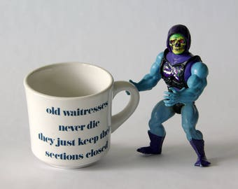 old waitresses vintage mug - 1211325