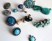 Mixed Turquoise Lot for Repair or Jewelry Craft