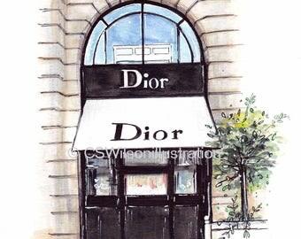 Dior - Fine Art Print