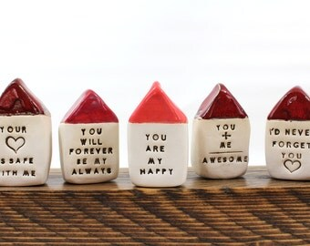 Personalized gift Office decor Gifts for him Gifts for her Inspirational quote Inspirational gift Empowerment gifts Miniature house