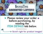 Reserved Custom Listing
