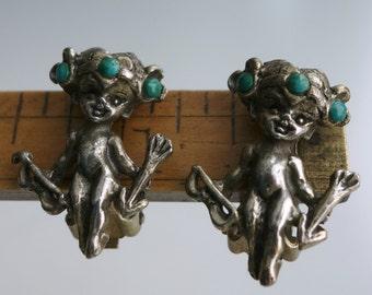Cyvra Cupid Pixie Earrings