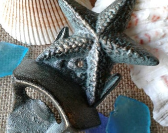 Cast Iron Bottle Opener,Starfish