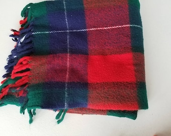 Acrylic Faribo Plaid Throw 56 x 52
