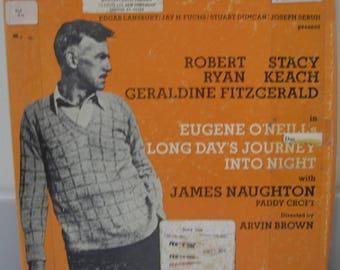 Spoken Word Caedmon 4 Record Album Box Set, By Eugene O'Neill, Long Day's Journey Into Night, Robert Ryan, Stacy Keach, James Naughton