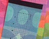 Colorful Block Printed - 2017 Letterpress Calendar