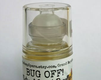 Bug-Off!  Insect Repellent Roll-On-All NATURAL- Long Lasting-Choose your size-Limited Quantity