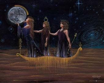 The Return Of Sisterhood- original oil painting