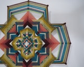 Rainbow of Light, a 24 inch Ojo de Dios, in stock by S. Herbert