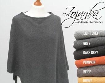 PONCHO wrap, poncho cape, gift ideas, autumn fashion accessories, cape wrap, wool poncho wrap