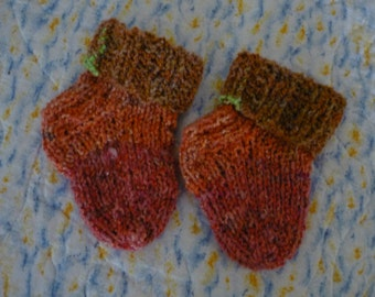 Baby Socks Handmade Knitted Newborn