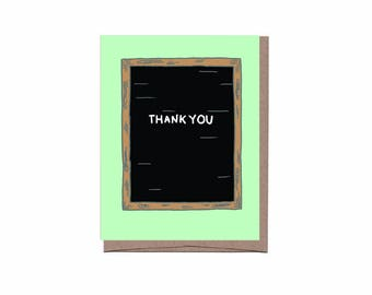 Letterboard Thank You Card