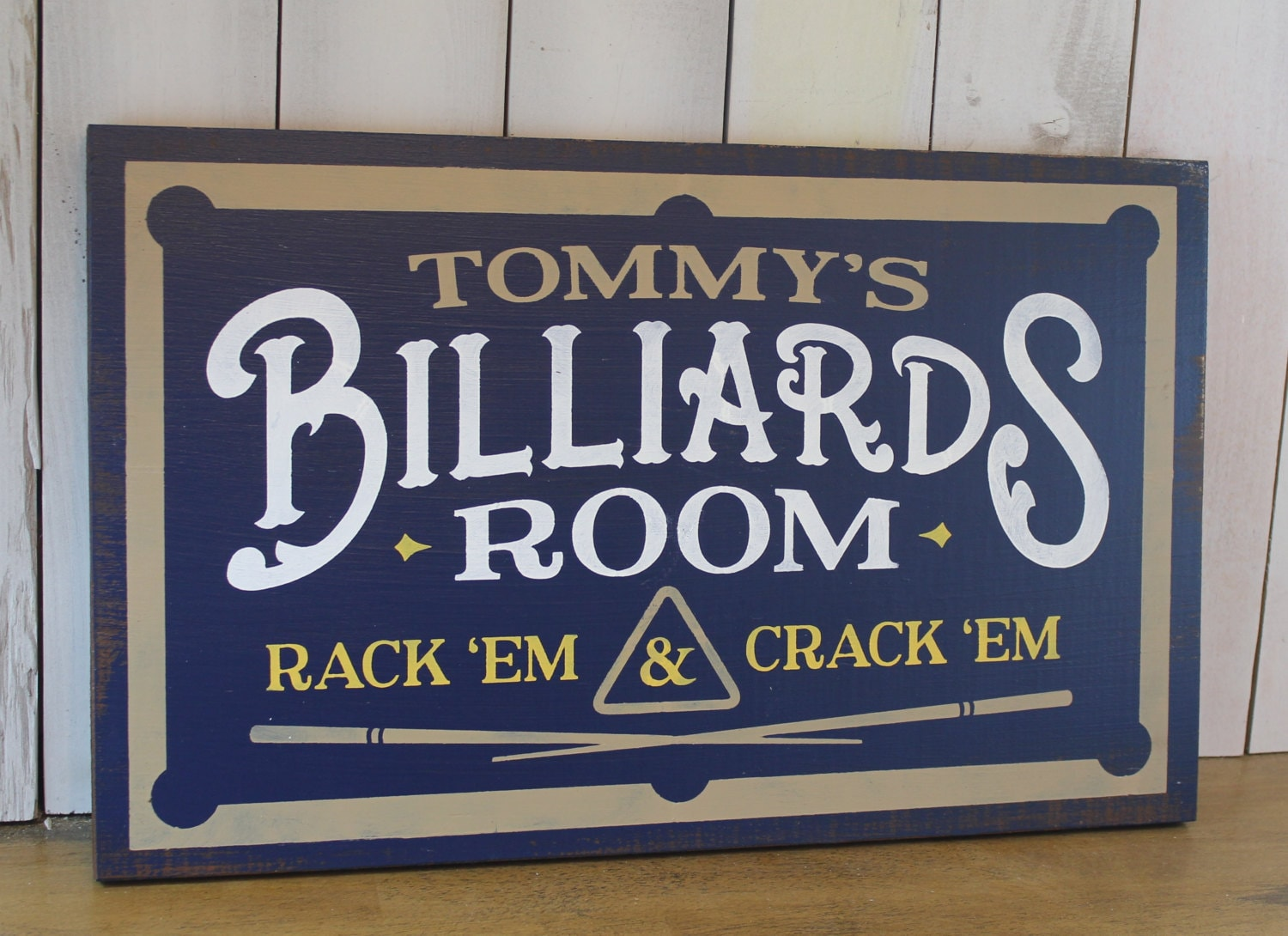 Custom Man Cave Signs Canada : Personalized billiards room sign man cave christmas gift you